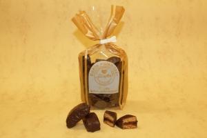 Gefüllte Schokoladenspitzen